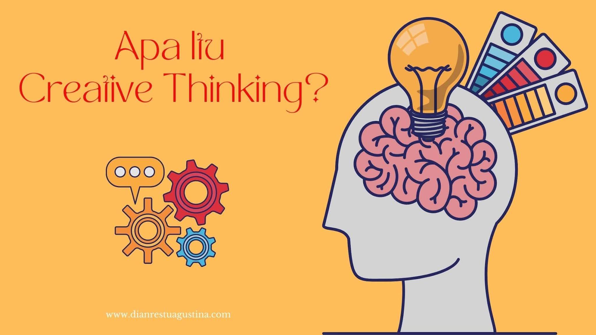 Contoh Creative Thinking