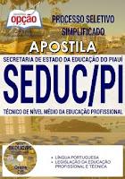 Apostila Concurso SEDUC-PI 2017 Técnico de Nível Médio