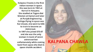 Questions answers of women in space