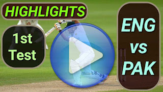 ENG vs PAK 1st Test 2020
