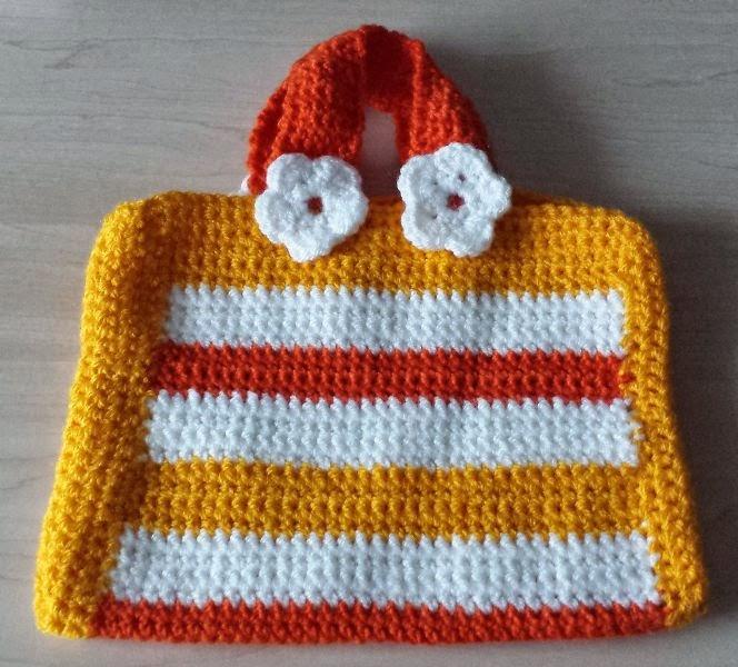 Basslady Creations 2 Gehäkelte Kinder Taschen