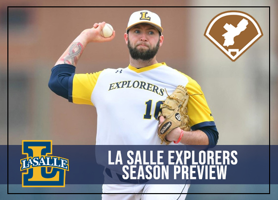 Colin Kennedy sits at the front of the La Salle rotation