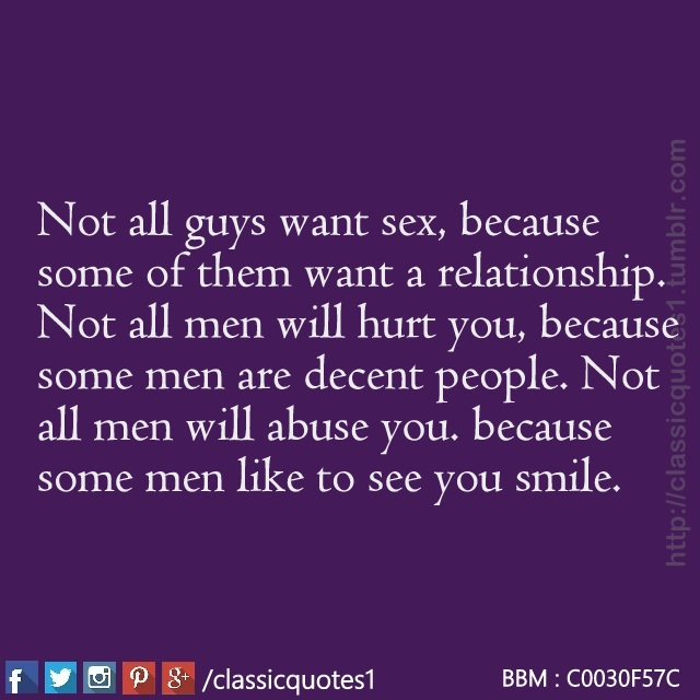 When a man does not want sex