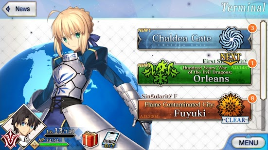 Fate / Grand Order Apk Free on Android Game Download