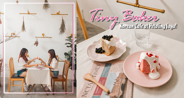 TinyBaker in Pink - Korean Cafe at Petaling Jaya!