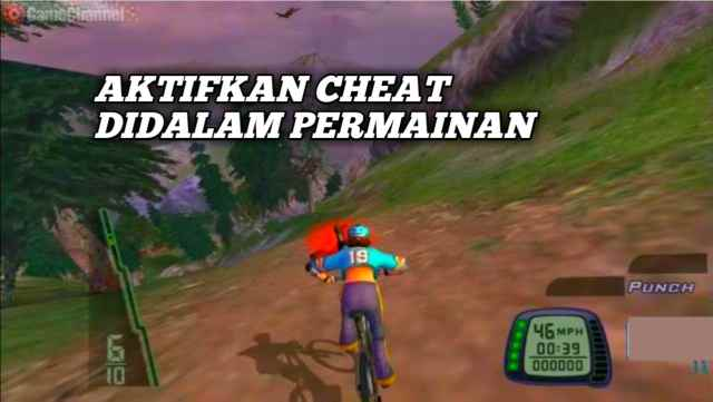 Cara menggunakan cheat downhill ps2