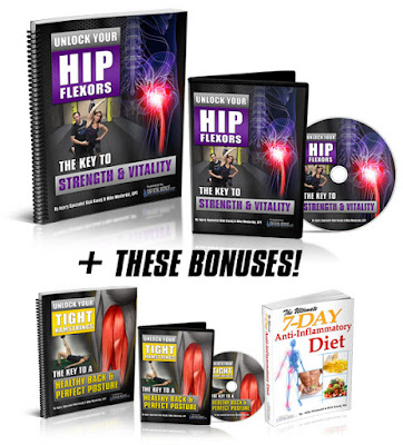 What is unlocking your hip flexors program
