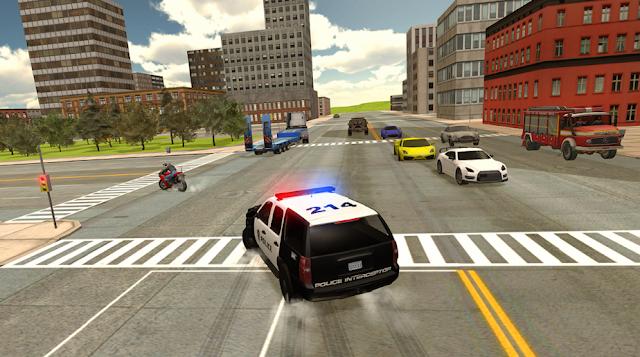 لعبة محاكي سيارة الشرطة واجب الشرطة - Cop Duty Police Car Simulator