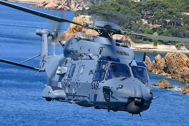 First Spanish NH90 search rescue