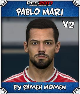 PES 2017 Faces Pablo Mari by Sameh Momen