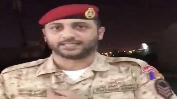 رد فعل غير متوقع.. خلاف بين عسكري كويتي ووافد مصري يثير ضجة (فيديو)