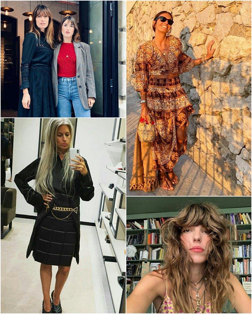 Fashionistas que seguem o estilo messy ou french girl