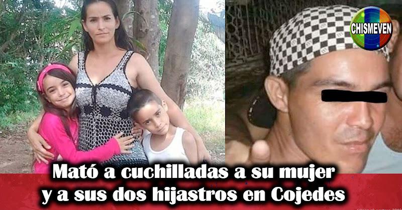 Mató a cuchilladas a su mujer y a sus dos hijastros en Cojedes
