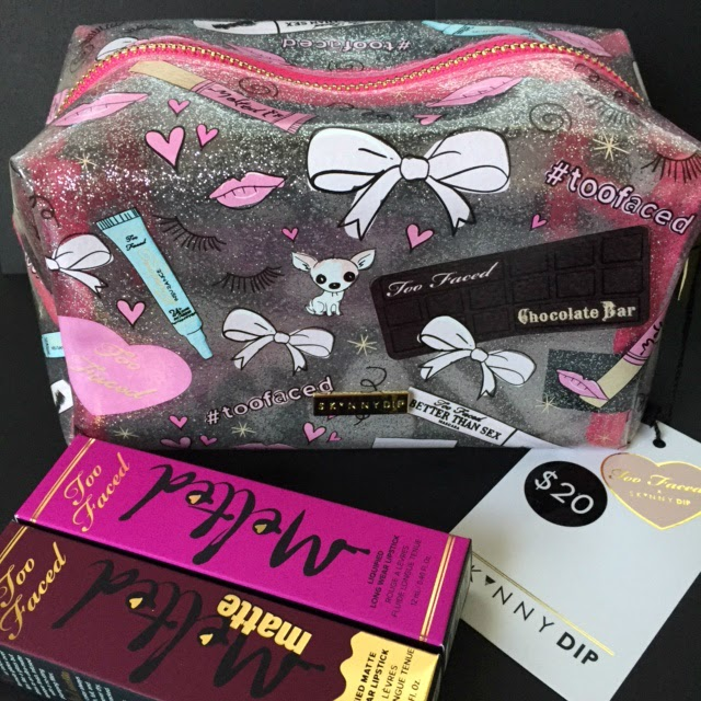 2e6787f072 Too Faced Cosmetics x Skinny Dip London Makeup Bag And Too Faced ...