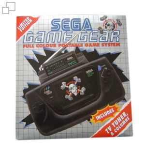 Gamegear + tv tunner + colums