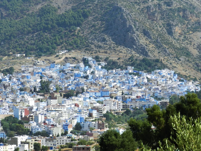 chefchaouen visione panoramica