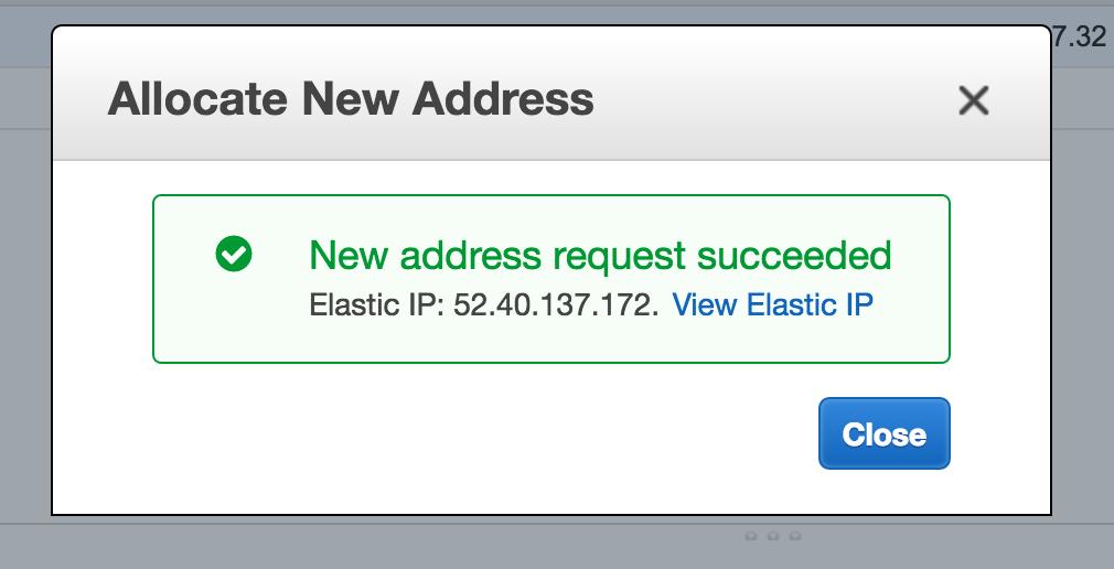 an Elastic IP
