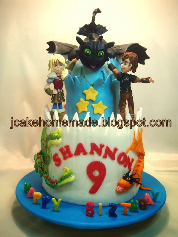 Jcakehomemade How To Train Your Dragon 2 Birthday Cake