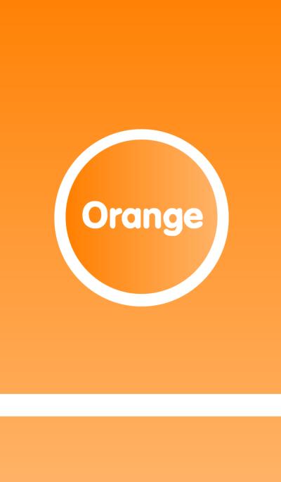 Simple Orange theme