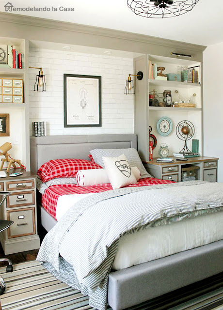 Teen Boy Room Before and After with a Project You Haven't ... on Teenager Style Teenage Room  id=34878
