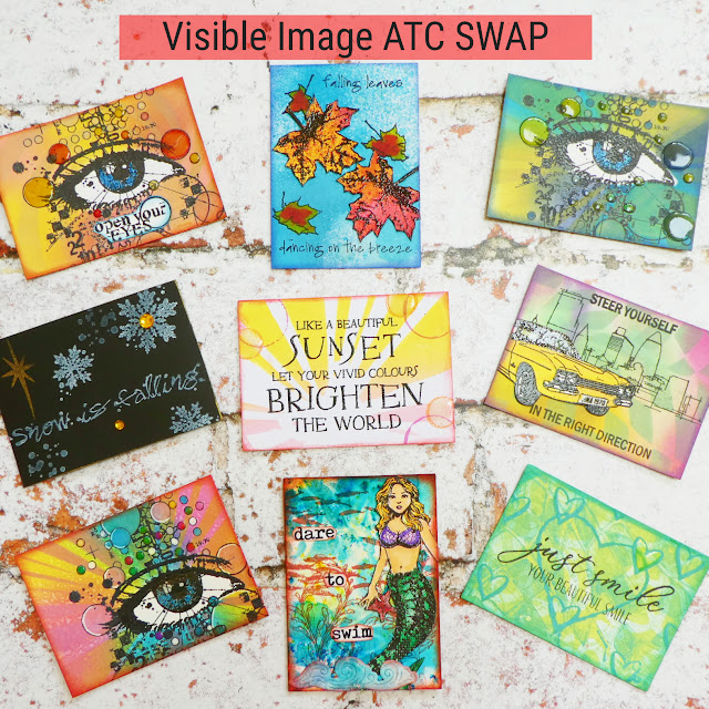 ATCs | Visible Image stamps