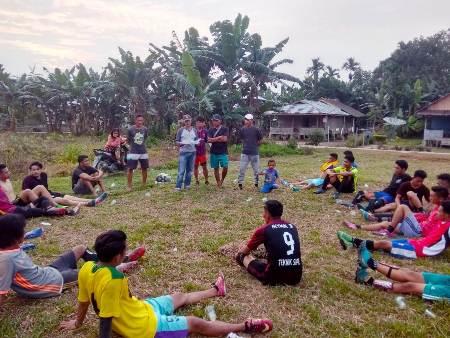 Tim Sepakbola Siberut Utara Siap Hadapi Lawan  Yang Digelar KONI Mentawai