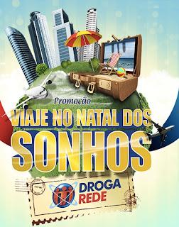 Participar promoção Droga Rede Viaje no Natal dos Sonhos