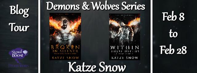 Blog Tour incl Guestpost & Giveaway: Katze Snow - Demon & Wolves Series