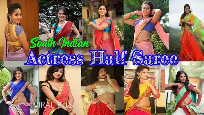 TOP 10 YOUNG SOUTH INDIAN ACTRESS IN HALF SAREE