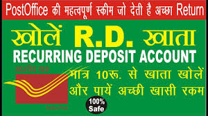 Post office Small Saving Scheme