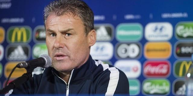 Fußball U21 EM: Slowakei Trainer dankt Mazedonien für ehrliche Leistung