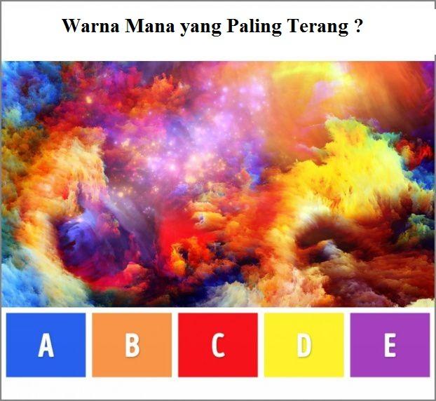 Warna mana yang paling terang?