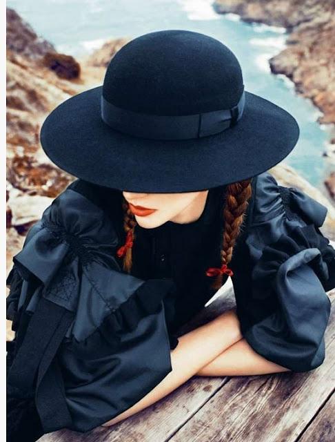 шляпа в стиле бохо шик