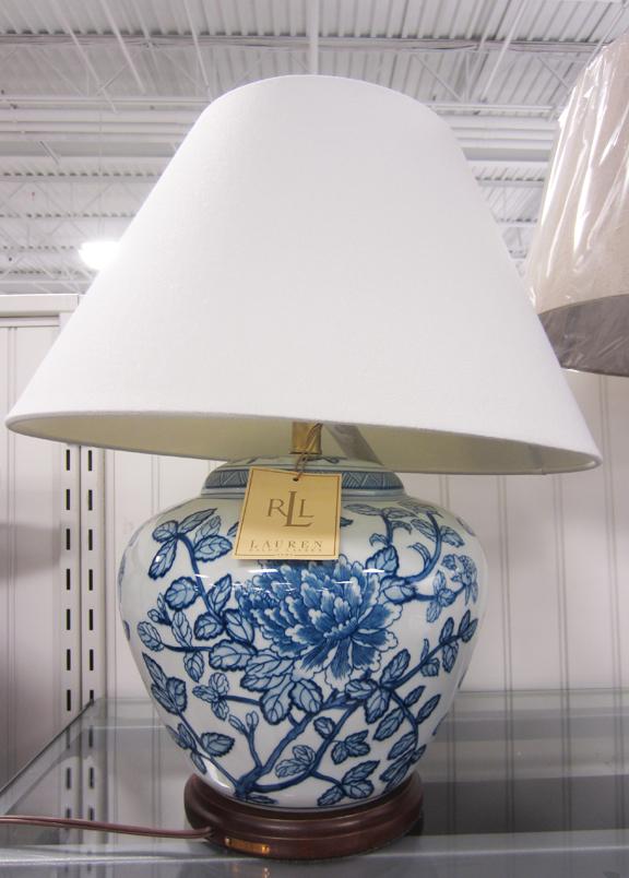 Apartmentf15 Ralph Lauren Blue Amp White Asian Style Lamps