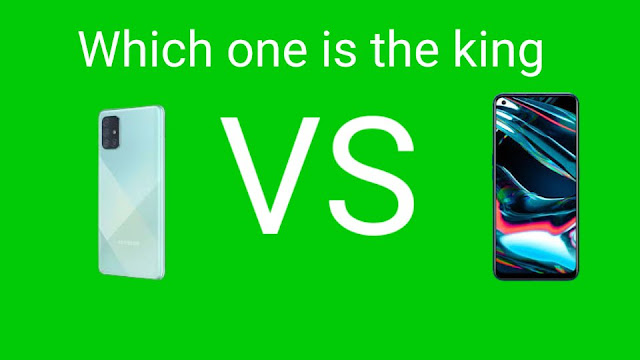 Samsung Galaxy A71 and Realme 7  Pro which one is the king?