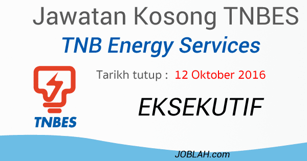 Jawatan kosong TNB Energy Services