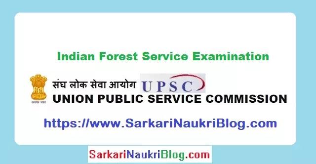 UPSC Forest Service Examination