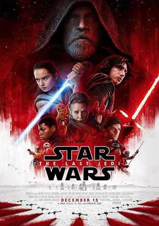 Star Wars: The Last Jedi 2017 Dual Audio BRRip 720p