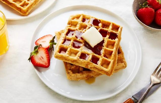 Vegan Waffles #vegan #recipe