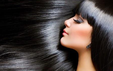 Cara Agar Rambut Hitam Berkilau Secara Alami
