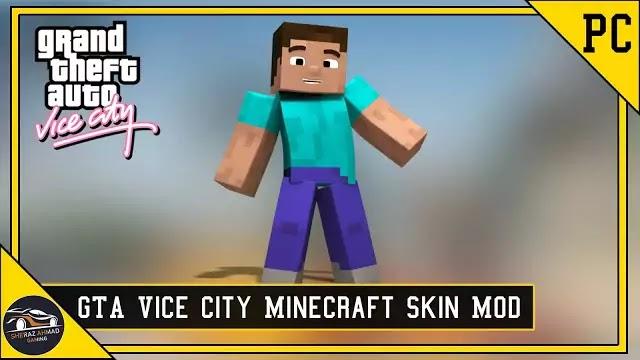 GTA VC Minecraft Skin