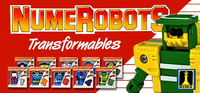 Figuras Numerobots (Rima, 1988)
