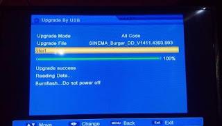 cara upgarde receiver matrix sinema hd software terbaru