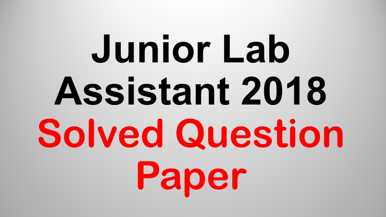 lab assistant answer key 2018 download