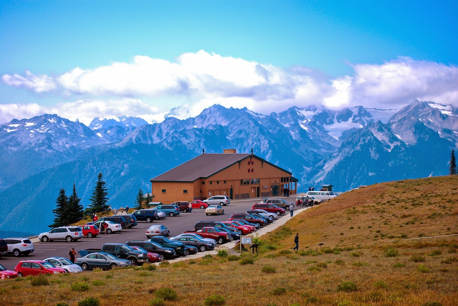 Hurricane Ridge visitor center