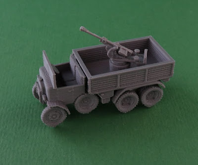 Breda 20mm AA on Truck picture 1