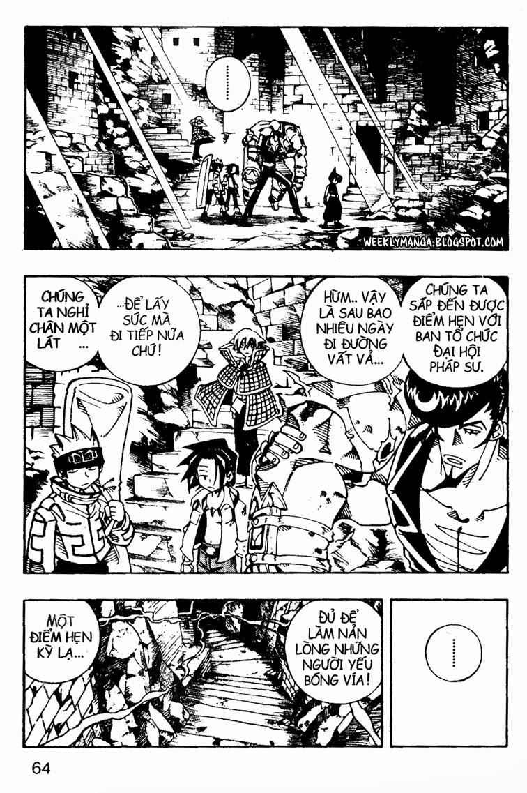 Shaman King [Vua pháp thuật] chap 107 trang 6