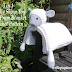 Crochet Pattern: 3 in 1 Decorative Cuddly Sheep Toy Baby Pram Blanket