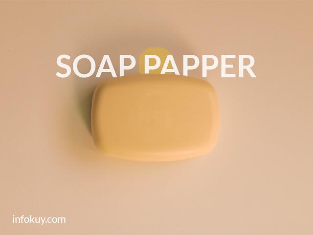 Soap paper
