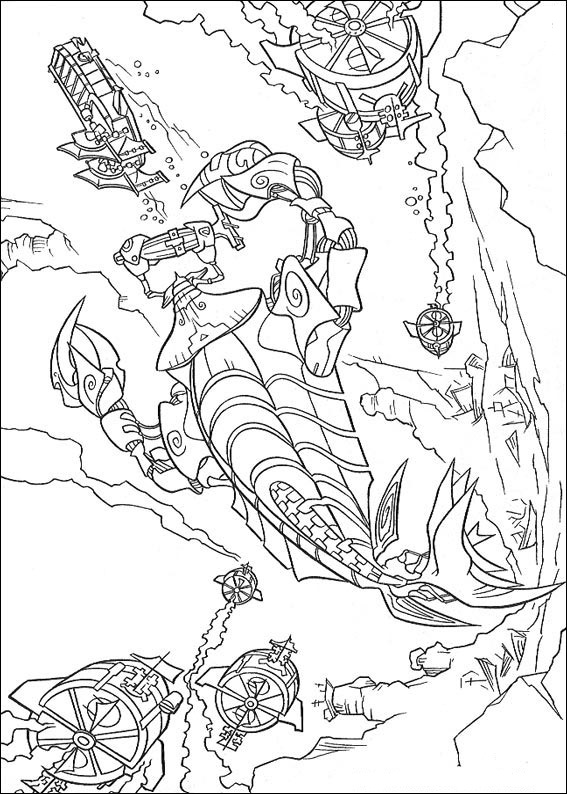 coloring pages atlantis coloring pages